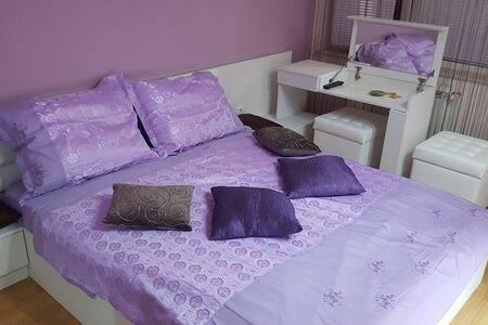 Private double romantic room..