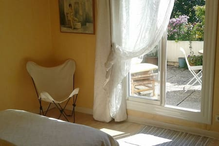 Lumineuse chambre sur terrasse sdb - Valence - Wohnung