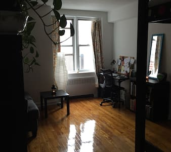 This is a private studio in Windsor Terrace, five minutes from Prospect Park and 30 minutes from Manhattan. The place is near restaurants and the victorian houses of Ditmas Park. The G/F trains are very near with an easy commute to Manhattan.