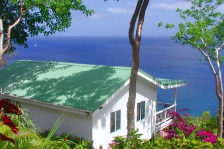 AVOCADO COTTAGE, SEA VIEWS, PARADISE POOL, MARIGOT - Marigot Bay - Huis