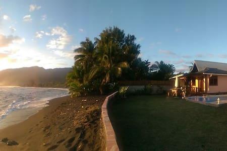 Tahiti Surf Beach Paradise TEMOE - Bungalow
