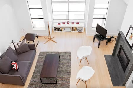 Beautiful Loft with Private Floor