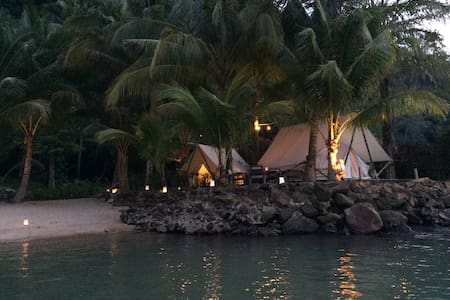 Lisca Family Glamping 2luxury tents - Klong Prao Beach