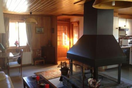 Verbier center charming chalet - Alpehytte