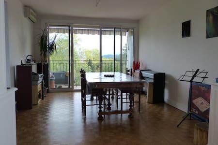 Appartement 3 chambres vue pyrénées - Daire