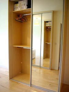 Secure private room with en suite.
