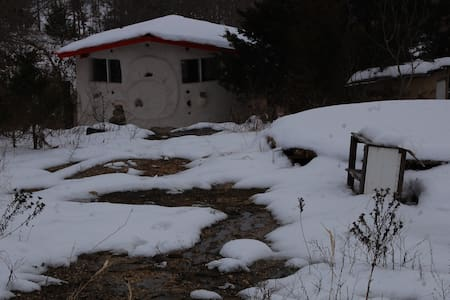Rustic HandBuilt Cabin on Homestead - Cabin