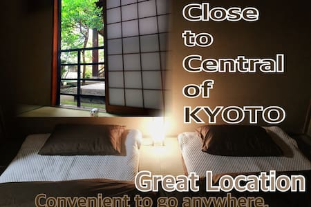 Central Area/Near Gion/Free Wi-Fi - Appartement