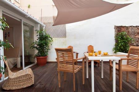 1st-Riverside-Terrace-Bikes - Lisbon - Apartment