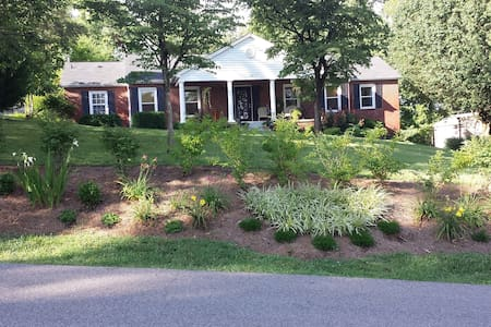 Comforts of home, close to downtown - Knoxville - Haus