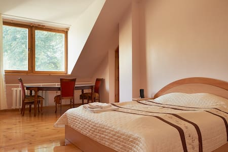 Spacious room in city center!