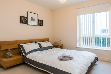 Ensuite Cozy Double roomCardiff Bay - Cardiff - Apartment
