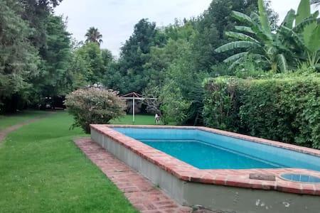 Maison de campagne, parc et jardins,le repos ideal - Talo