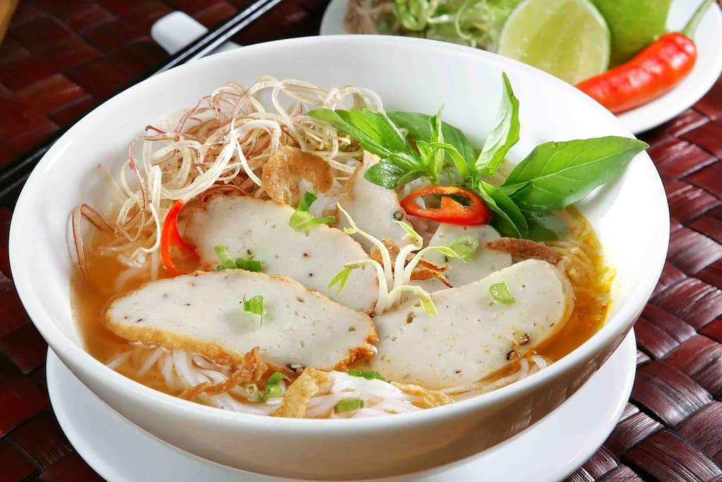 Bun cha ca-  famous food in Hoi An