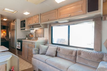 Room type: Entire home/apt Property type: Camper/RV Accommodates: 4 Bedrooms: 1 Bathrooms: 1