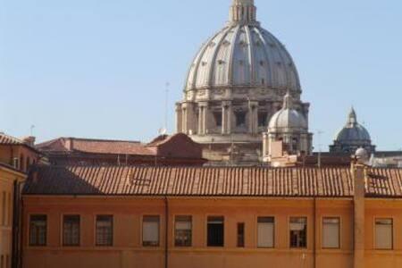 Roma centro San Pietro vista cupola