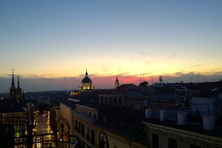 Great room with amazing terrace - Madrid - Appartement