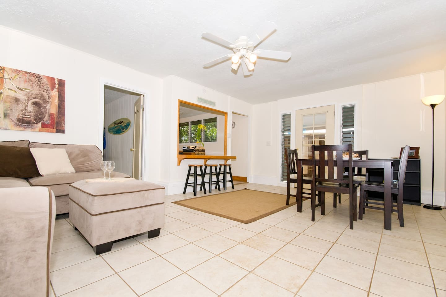 Two Bedroom House near Kailua Beach