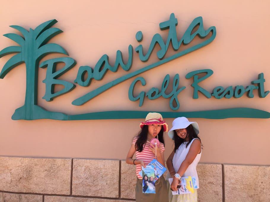 Villa on the Boavista golf resort.