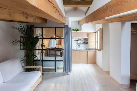 Designer attic INSIDE Plaza Mayor - Madrid - Apartment