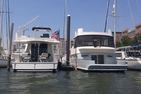 Marina Tranquility well within Vibrant City Limits - Jersey City - Boat