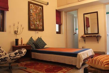 Arty retreat in leafy South Delhi/1 - New Delhi - Bed & Breakfast