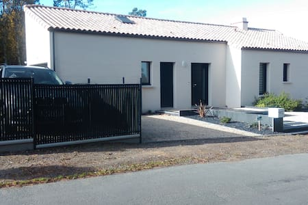 VILLA 900M . OF THE SEA. Wi-Fi - Jard-sur-Mer - Villa