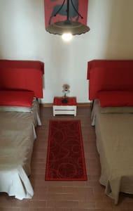 20€ Stanza 2 lettini+bagno privato - Casa