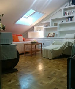Attic-studio, 15 minutes far from Madrid by car. - Wohnung