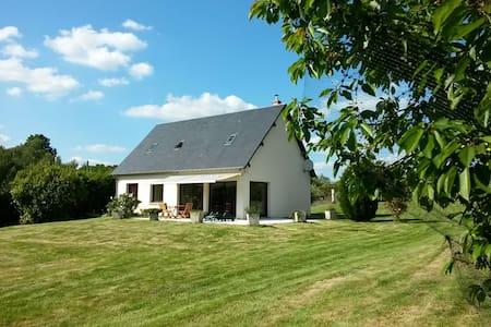 Maison moderne avec vue sur la forêt. Normandie - Bosrobert - House