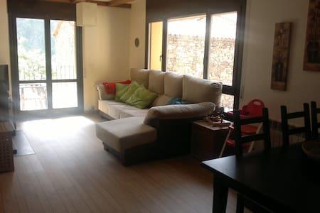 Apart. en pequeño pueblo Pirineos - Apartamento