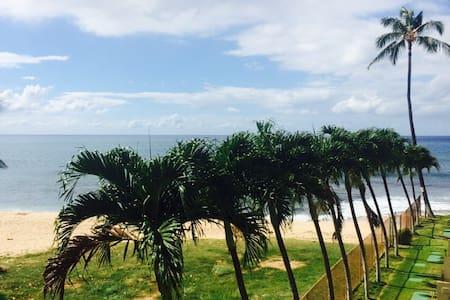Oceanfront Studio in Paradise
