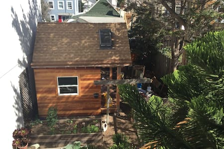 SF Tiny House Be Our First Guest!