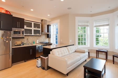 Chic Modern Row House Apt in Dupont