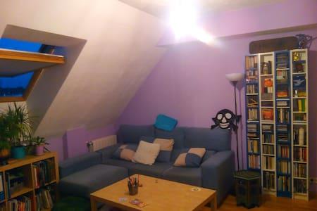 Pequeño estudio en C. Villalba - Apartamento