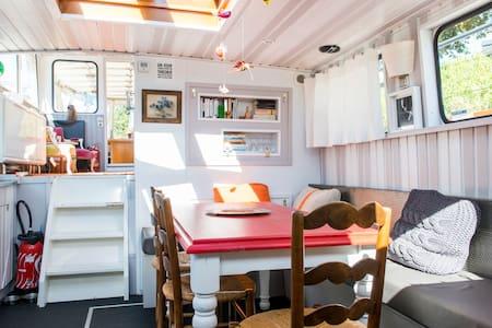 Chambre d'hôtes sur péniche - Nantes