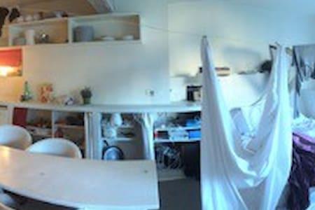 appartement style loft rue Belgrand - Paris - Loft