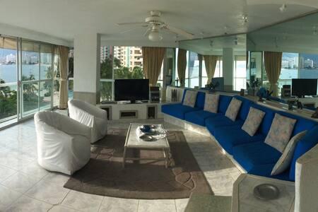 Hermoso departamento en la playa - Acapulco