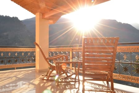 Manali Morning Sunrise