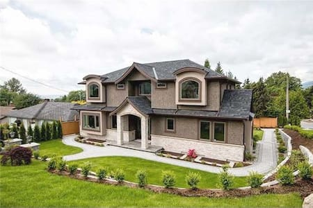 A New Large Quiet Luxury House - North Vancouver - House