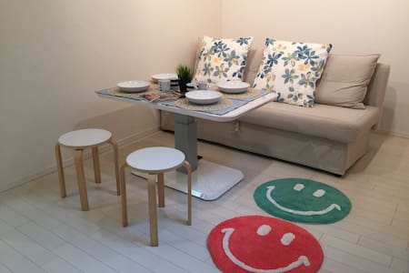 2DOUBLE BED&SOFA/53m2 AT OMOTESANDO