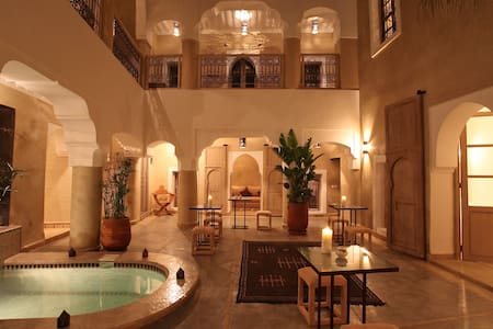 Room Chocolat, Riad BB, jacuzi