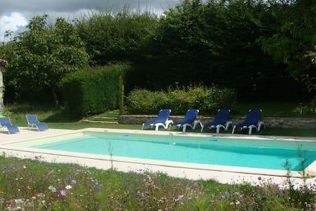 L'Orangerie, gite avec piscine - Haus