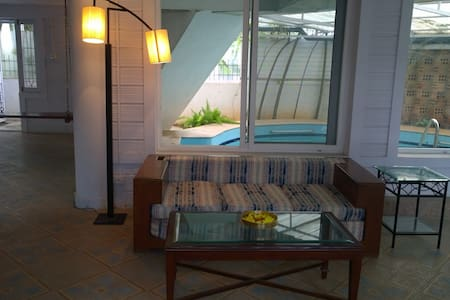 Quiet sunny house with private pool - Bangalore