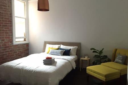 Beautiful sunny + spacious room!