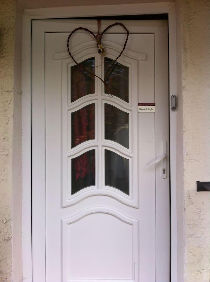 Entrance to your holiday - Eingang zum Urlaub