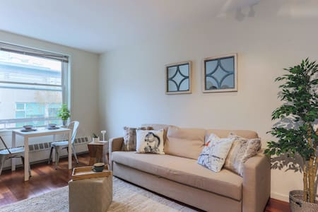 Wonderful Downtown Living with AC - Vancouver - Apartment