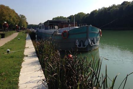 Chambres sur Bateau près d' EPERNAY - Mareuil-sur-Ay - Boat