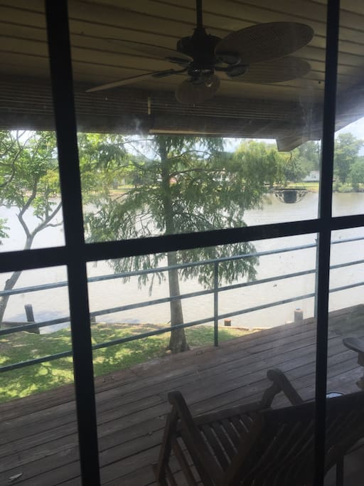 View of Intracoastal from second floor