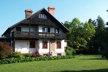 Historic Garden Villa in Slovenia - Lejlighed